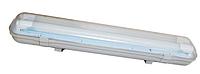 Пыле-влагозащищённый светодиодный светильник 600мм IP65 + 2 LED лампы 2х9Вт