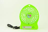 Вентилятор настольный USB DR-1501 с аккумулятором, фото 1