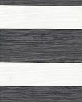 Тканевые ролеты День-ночь. 50*170 см. Олимпос зебра 2095 Темно-серый делаем любой размер