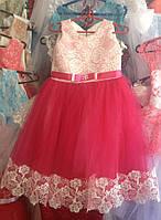 Платье нарядное Бант 3-5 лет Dina105