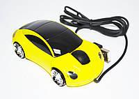 Мышь компьютерная проводная MA-MTA38 USB#жёлтый, фото 1