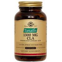 Solgar, Тоналин КЛК, 1300 мг, 60 гелевых капсул (Tonalin CLA)  №60,   КЛК, коньюгированная линоленовая кислота