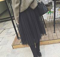 Молодежная юбка пышная из фатина