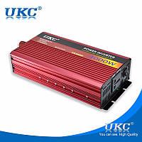 Инвертор автомобильный Power Inverter UKC 4000W (Surge 8000 Watt), преобразователь напряжения