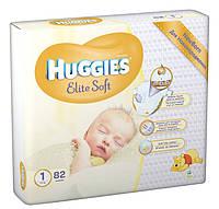 Подгузники Хаггис Huggies Элит Софт 1 (2-5кг) 82 шт.