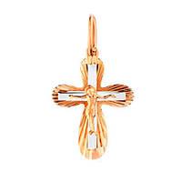 Золотой крест  с распятием