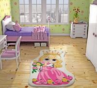 Детский ковер Confetti Princess фуксия
