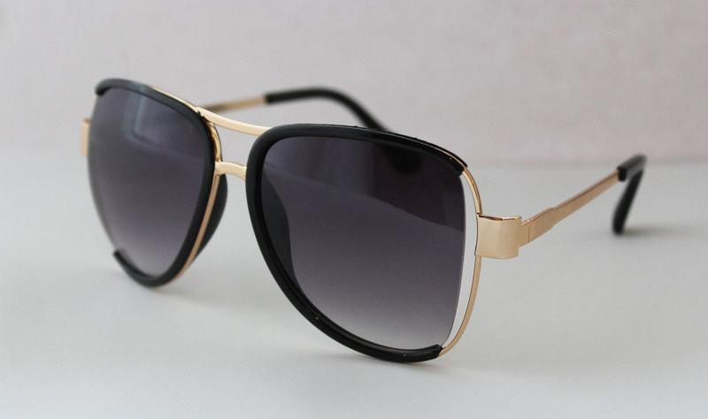 Фигурные оригинальные солнцезащитные очки для женщин