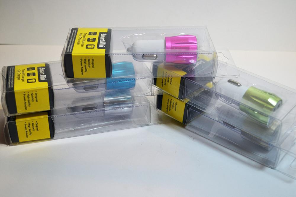 Картинки по запросу АЗУ авто зарядка 2 USB mini пластик