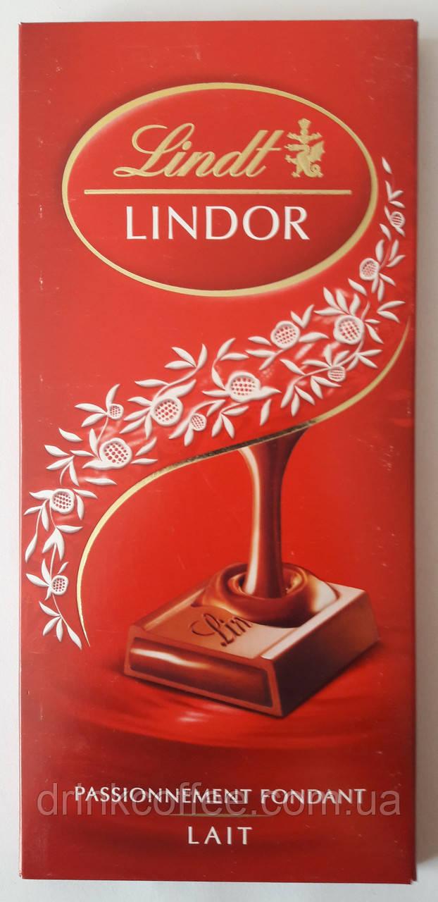 "Шоколад молочный Lindt ""Lait, Passionnement Fondant"", 150 г"