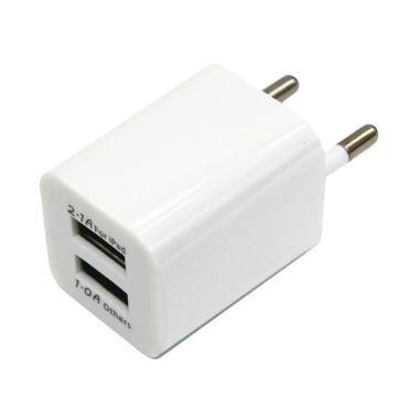 Адаптер Кубик 2 USB 220V 2.1А