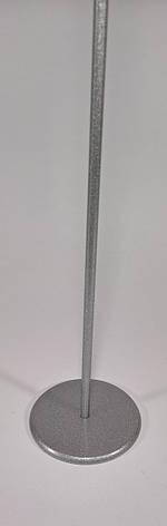 Металлическая подставка для флажков (Однорожковая), фото 2