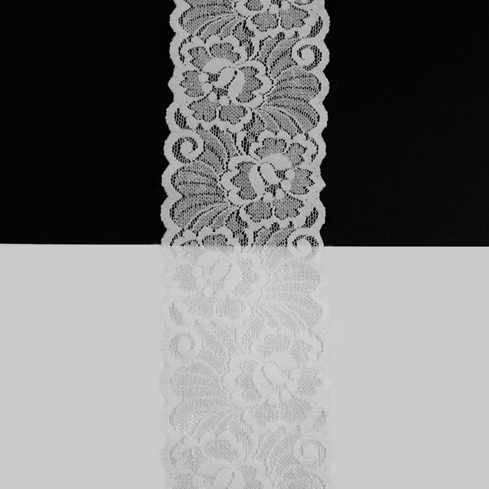 Кружево Франция арт. 456 белый, шир. 8 см.