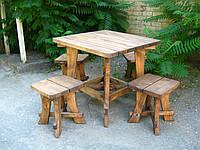 Стол деревянный Рио сосна, фото 1