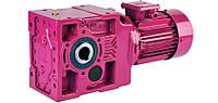 Коническо-цилиндрический мотор-редуктор K