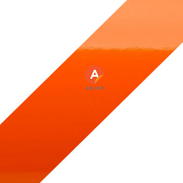 Пленка Arlon (383 GLOSS BRIGHT ORANGE) оранжевая глянцевая