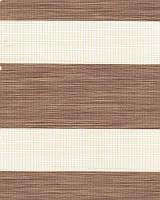Тканевые ролеты День-ночь. 50*170 см. Олимпос зебра 2090 Светло-коричневый делаем любой размер