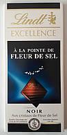"Шоколад черный Lindt ""Excellence, A` La Pointe de Fleur de Sel"", 100 г"