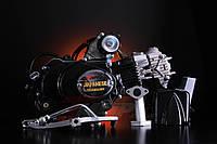 Двигатель мопеда Альфа 125 см3 механика (+карбюратор) TMMP