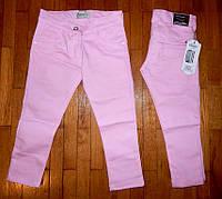 Детские коттоновые брюки для девочек Модница 1-4 лет