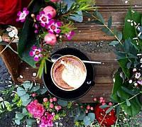Кофе с медом, лимоном, корицей и вином!