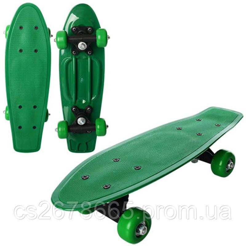 Скейт MS 0850 пенни, алюминиевое крепление