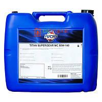 Трансмиссионное масло Titan Supergear MC 80w140 20л