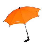 Зонтик для колясок - Emmaljunga (Швеция) крепится на коляску (15 расцветок) Neon Orange