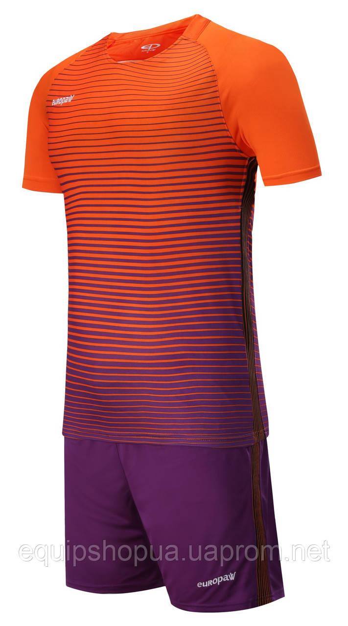 Футбольная форма Europaw 013 оранжево-фиолетовая