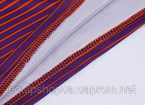 Футбольная форма Europaw 013 оранжево-фиолетовая, фото 3