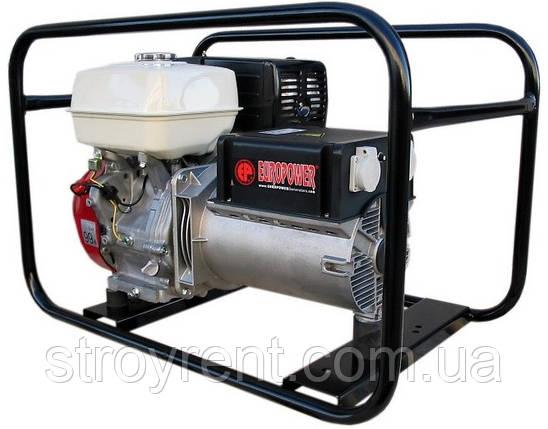 Генератор бензиновый EUROPOWER EP6000 (5,4 кВт)- аренда, прокат, фото 2