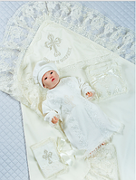 Хрестильний дитячий комплект-5 предмета.