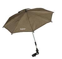 Зонтик для колясок - Emmaljunga (Швеция) крепится на коляску (15 расцветок) Outdoor Olive