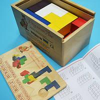 Методики Никитиных «Кубики для всех (Сообразилка)» (деревянная коробка). От 2 лет.