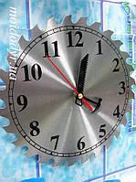 Часы настенные в виде дисковой пилы