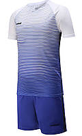 Футбольная форма Europaw 013 сине-белая