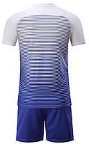 Футбольная форма Europaw 013 сине-белая, фото 3