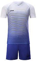 Футбольная форма Europaw 013 сине-белая, фото 2