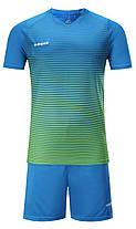 Футбольная форма Europaw 013 сине-зеленая, фото 2
