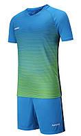 Футбольная форма Europaw 013 сине-зеленая
