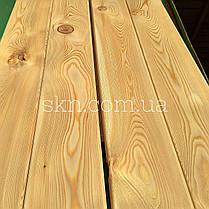 Палубная доска/прямой планкен, сибирская лиственница 20х140 сорт АВ, фото 3