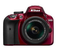 Фотоапарат/ Фотоаппарат Nikon D3400 + AF-P 18-55 VR  Red