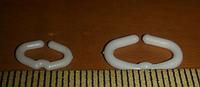 Стопорное кольцо от расклева (канибализма) для перепелов, кур,курапаток  и фазанов (среднее)