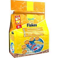 Tetra Pond Flakes корм для мелких рыб в хлопьях, 4 л, фото 1