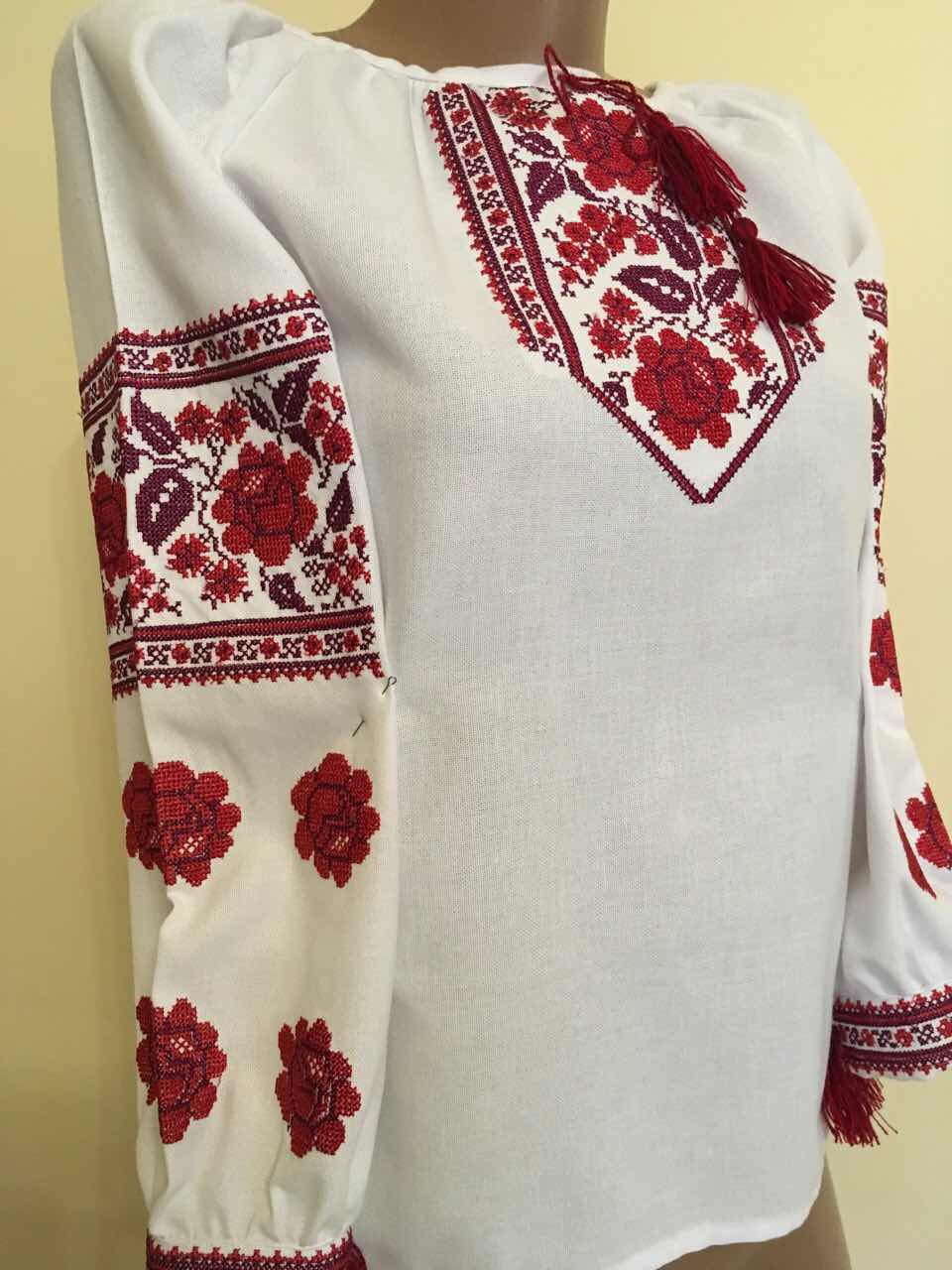 Вишита сорочка для дівчинки підліткова 15-16 років - Скарбниця Карпат-  інтернет магазин виробів cbd178d596d52