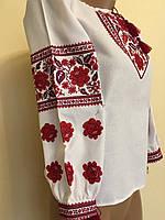 Вишита сорочка жіноча ручної роботи розмір 52 (3ХL) fd5e06b1fa827