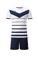 Футбольная форма Europaw 014 бело-т.синяя