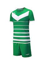 Футбольная форма Europaw 014 зелено-белая, фото 2