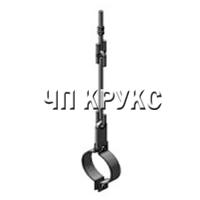 Подвеска отдельная с одной тягой для трубопроводов тип ПО
