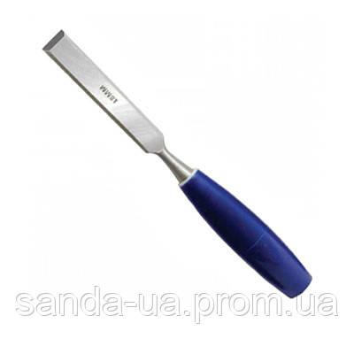 Стамеска Technics с пластмассовой ручкой 32мм 43-010
